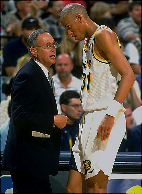 The Pacers reached the conference finals twice in Brown's four years, but his last season, in 1996-97, ended without a postseason berth. He would be replaced by Larry Bird.
