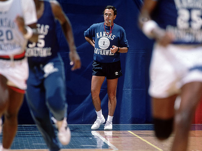 Brown went 135-44 in five seasons with the Jayhawks. The highlight came when a Danny Manning-led team won the national championship in 1988, after which Brown accepted the UCLA job again ... only to return to Kansas ... only to then leave soon thereafter for the San Antonio Spurs.