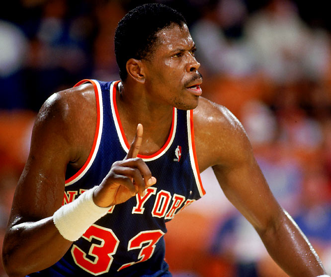 With incumbent frontcourt stars Bernard King and Bill Cartwright sidelined for most of Ewing's rookie season, the seven-footer averaged 20.0 points, 9.0 rebounds and 2.1 blocked shots to become the first New York player to capture NBA Rookie of the Year honors since Willis Reed in 1965. The first-year post man won the award despite missing 32 games -- along with his first All-Star Game -- because of a knee injury.