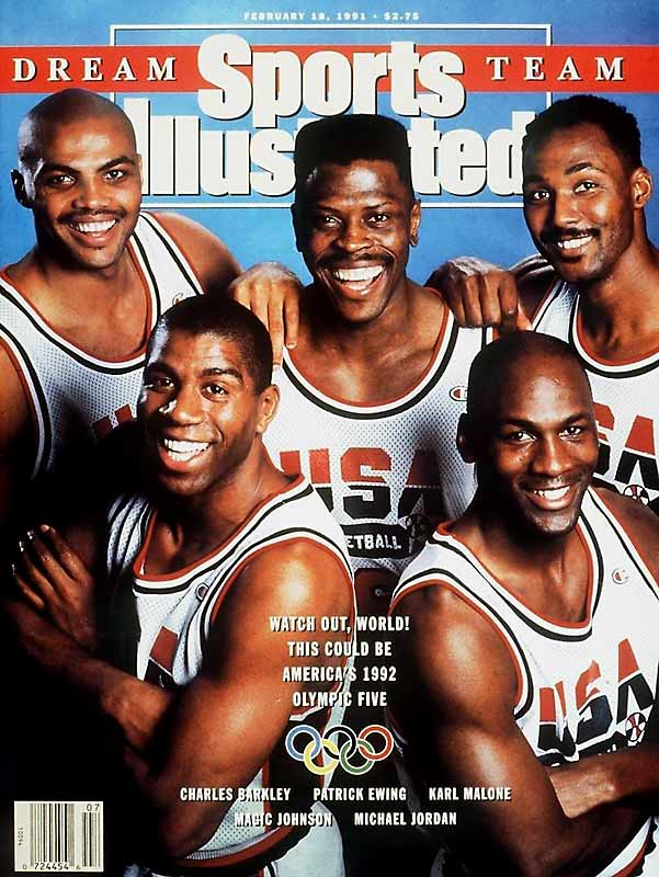 FIBA's decision in 1989 to allow NBA players to participate in the Olympics led to the creation of the Dream Team, widely considered the greatest assembly of talent in the history of basketball. Ewing played alongside luminaries like Michael Jordan, Magic Johnson and Charles Barkley as the United States steamrolled to the gold medal with an average margin of victory of 43.8 points. Ewing averaged 9.5 points during the tournament and paced the team with 15 blocked shots.
