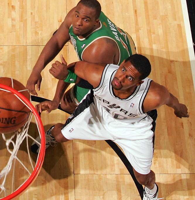 San Antonio's savvy front office struck again with this underrated deadline deal, acquiring the rough-and-tumble Thomas for Brent Barry, Francisco Elson and a 2009 first-round draft pick. The impetus for the trade was Phoenix's acquisition of Shaquille O'Neal, which led the Spurs to feel they needed another interior body for a potential playoff showdown against the Big Cactus. The impulse proved prescient: San Antonio faces Phoenix in the first round.