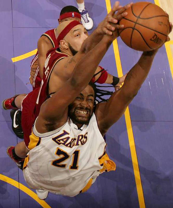 With breakout star Andrew Bynum still sidelined with a knee injury, the Lakers will turn to the former Gonzaga standout for production off the bench when Pau Gasol, Lamar Odom or Vladimir Radmanovic need a puff. Can Turiaf shake his April slump and re-emerge as a reliable sparkplug off the bench?