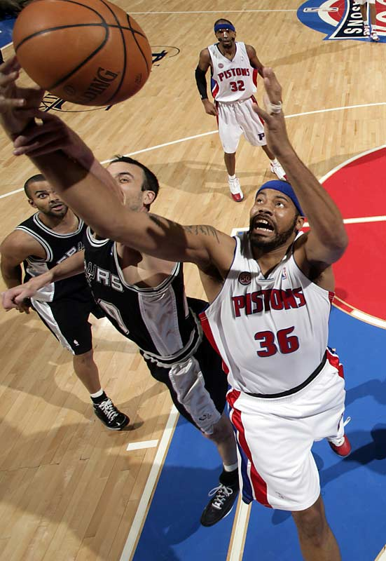 The 33-year-old native of North Philadelphia has enjoyed perhaps his finest all-around season, averaging 12.7 points, 6.6 rebounds and 1.7 blocks while helping the Pistons to a 59-23 record -- the league's second-best mark. If seedings hold and Detroit meets Boston in the Eastern Conference finals, the Pistons will count on Wallace asserting himself as the alpha dog in the star-studded frontcourt trenches.