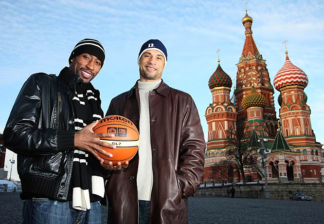 Holden and Langdon, CSKA Moscow teammates since 2005, play their home games in a complex not far from Red Square.