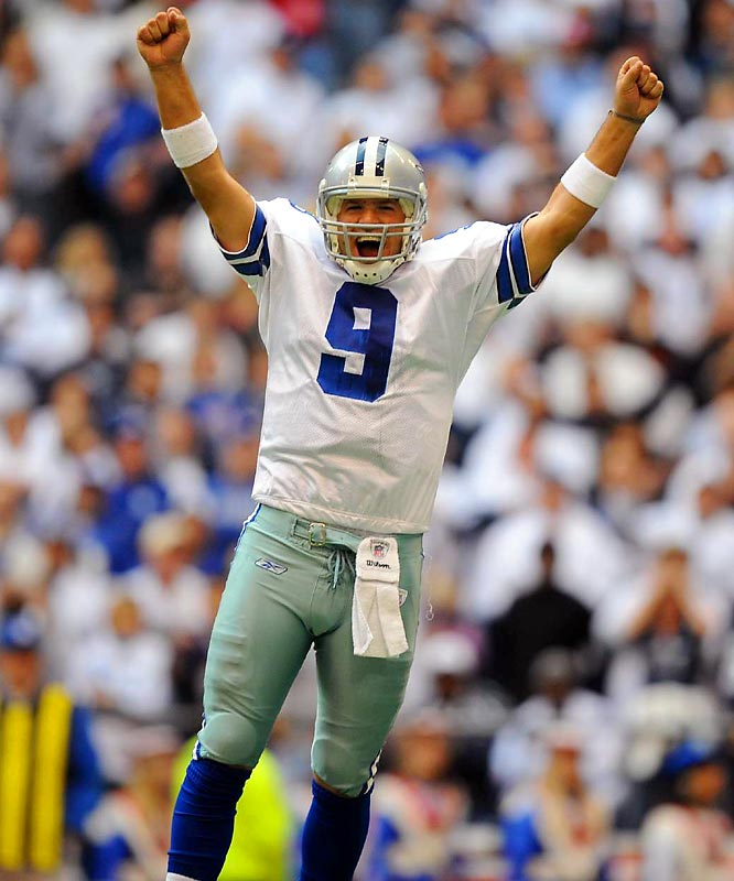 Undrafted out of Eastern Illinois, Romo now owns several Cowboys' passing records, including most TDs in a season (36) and a game (5).