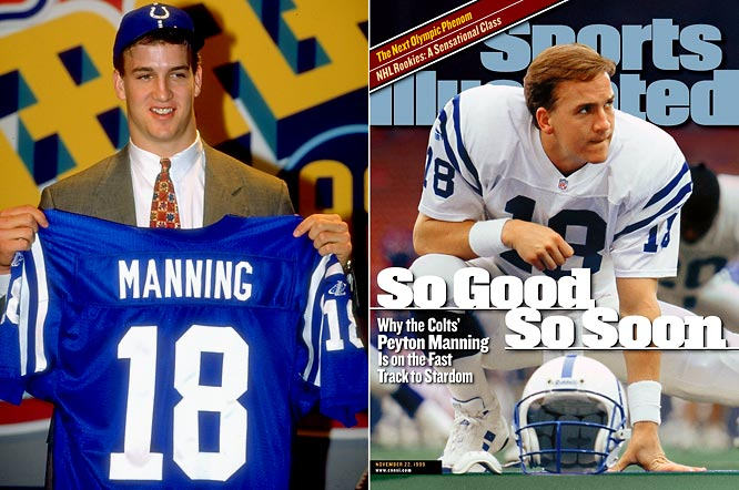 Few first overall picks have realized the hype more impressively than Manning, a two-time MVP who's made eight Pro Bowl appearances while leading Indianapolis to a victory in Super Bowl XLI.