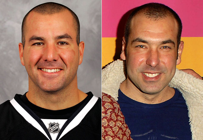 Goalie Marty Turco has brought the Stars to the playoffs for five straight years, but unfortunately has not gotten Dallas past the first round since 2003.<br><br>Rick Hoffman is an actor with many cameo and supporting roles, probably best known for his role as a twisted American client in the film <i>Hostel</i>.