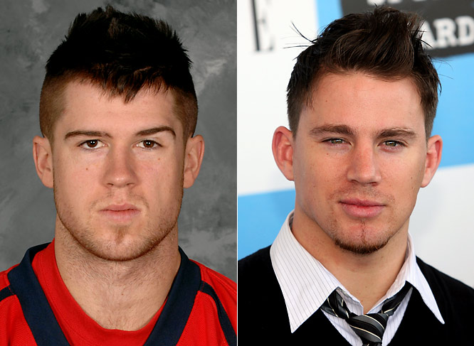 Capitals defenseman Mike Green had a breakout season, scoring 18 goals, 38 assists and 56 points.<br><br>Channing Tatum is a model-turned-actor who breakdanced his way into the nation's heart in the film <i>Step Up</i>. He can currently be seen in the Iraq War drama <i>Stop-Loss</i>.