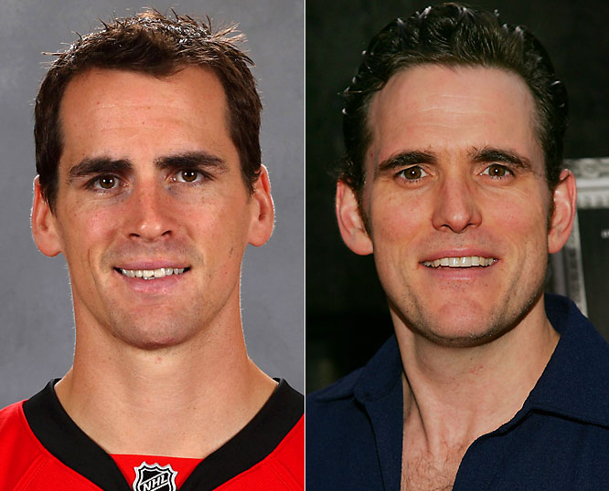 Senators defenseman Wade Redden has been an integral part of Ottawa's blue-line for the past decade and should continue to provide excellent two-way play in the playoffs.<br><br>Matt Dillon is an actor who is best remembered as of late from such films as <i>Crash</i> and <i>You, Me and Dupree</i>.