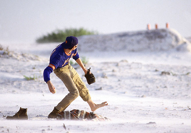 "Back in 1985, George Plimpton pulled off one of the all-time great April Fool's hoaxes, penning ""The Curious Case of Sidd Finch"" in the April 1 issue of SI. According to Plimpton, Finch was a mysterious rookie in training with the New York Mets. An eccentric character who only wore one shoe while pitching -- a ratty hiker's boat -- Finch allegedly threw the ball 168 mph. Despite the ridiculousness of the piece, many SI readers actually believed Finch existed. SI finally announced it was a hoax on April 15. Here are the pictures that accompanied the original SI story, as well as some that were never published."