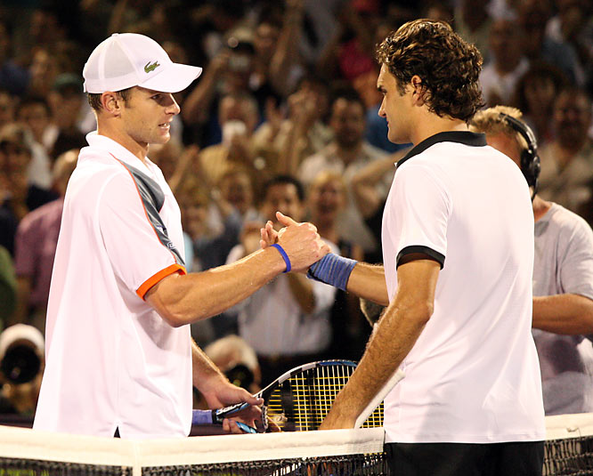 Since his engagement to SI swimsuit model Brooklyn Decker, Roddick is 1-0 against Federer.
