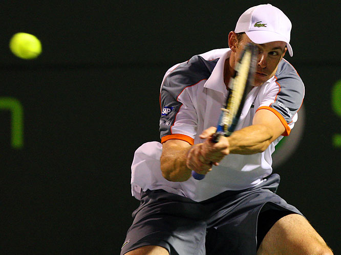 Roddick's entire repertoire was on display as he advanced to the semifinals of the Sony Ericsson Open.