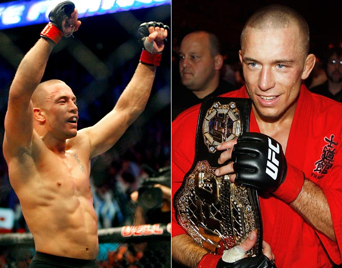 After one-and-a-half rounds of bloody punches and knees to the body, Georges St. Pierre avenged his UFC 69-welterweight-title loss to Matt Serra in front of an MMA record crowd of 21,390 at the Bell Centre in Montreal.