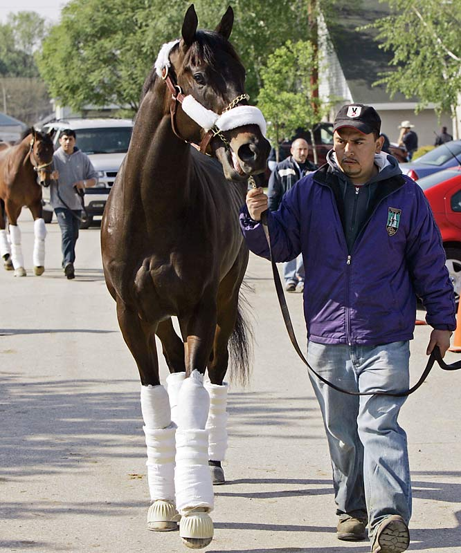 Post Position: 17<br>Trainer: Todd Pletcher<br>Jockey: John Velazquez<br>Cowboy Cal, owned by Houston Texans' owner Bob McNair (Why not ``Texan'' Cal?), earned his way into the Derby with a game second-place finish in the Blue Grass behind stablemate Monba. He hasn't run on a dirt surface since August of 2007, when he was seventh in a dirt sprint at Saratoga, the worst performance of his life, and clearly is Pletcher's B horse in the field. He is unlikely to survive a speedy pace up front.