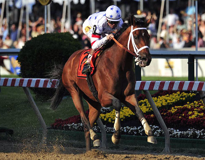 Big Brown has five wins in five starts including three consecutive impressive performances.