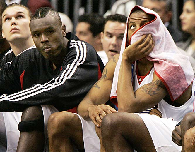 The worst part about the Sixers being eliminated from the playoffs on Thursday night: No more Samuel Dalembert mohawk!