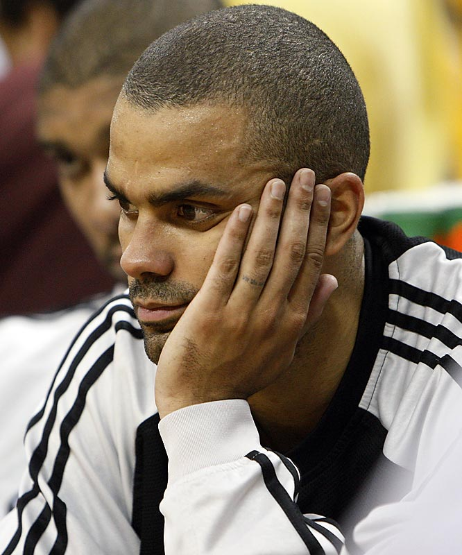Tony Parker was busy losing to the Hornets that evening.