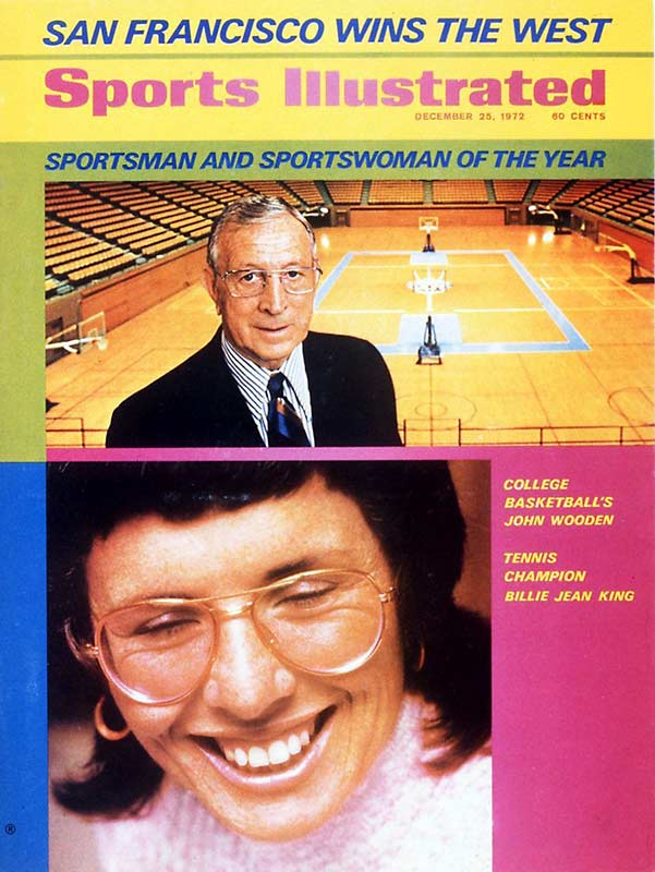 John Wooden was honored as the Sportsman of the Year in 1972.