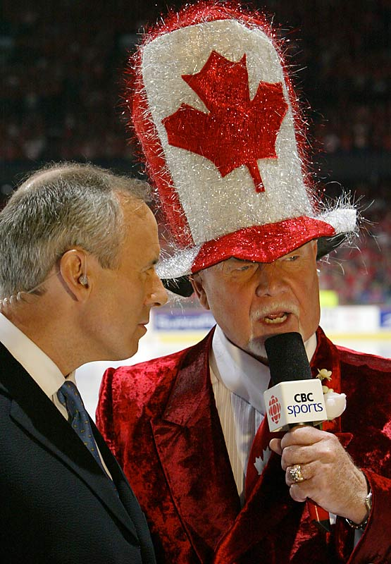 Oh, Canada, Don's hat stands on guard for thee.