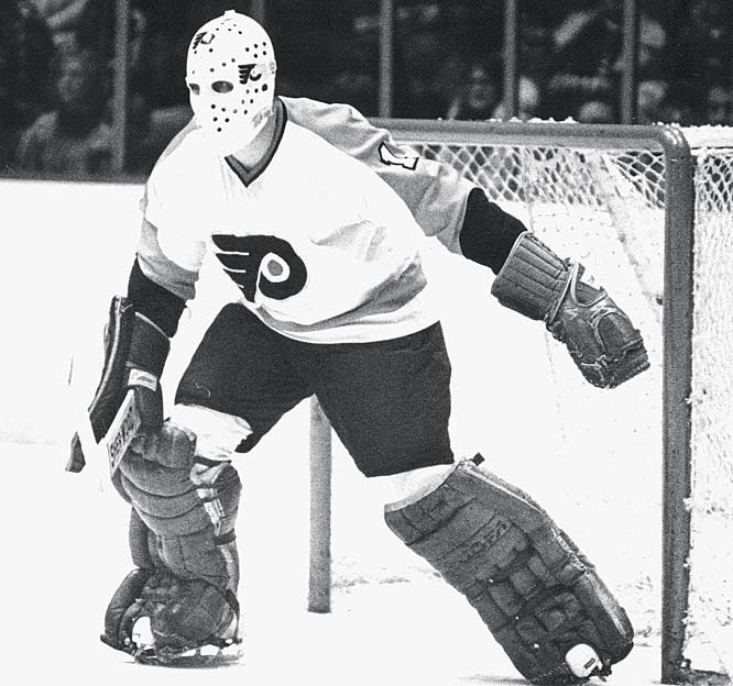 Led by Conn Smythe Trophy winner Bernie Parent, the Philadelphia Flyers beat the Buffalo Sabres in six games to capture their second straight Stanley Cup.
