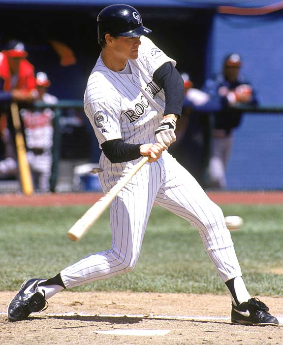 After hitting just .143 in 26 games for the Rockies, former Braves superstar Dale Murphy retires from baseball.