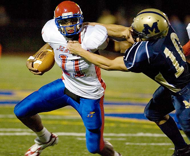 SI's male athlete of the year helped lead Jeannette  to WPIAL AA titles in basketball and football and finished with 8,499 career yards. He signed with Ohio State.