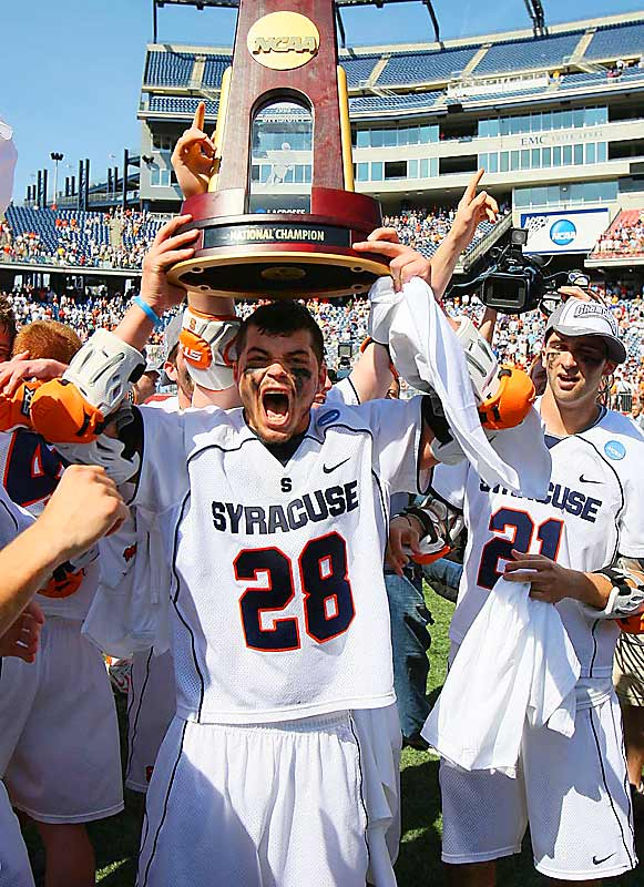 Stephen Keogh, a freshman from Toronto, netted two goals in the championship win, including Syracuse's first in the opening quarter on an unassisted effort. It was the ninth championship for Syracuse, and its first since 2004.