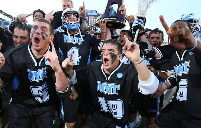 New York Institute of Technology took the Division II title, beating Le Moyne 16-11 behind Keith Henderson's five goals.