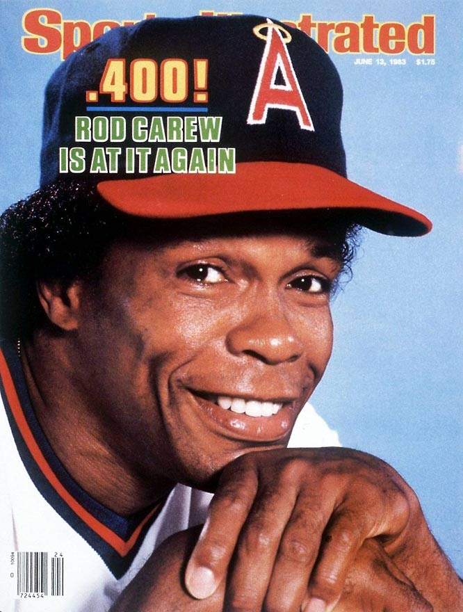 A career .328 hitter, Carew made his final run at .400 at age 37. The seven-time batting champ carried a .402 average into the All-Star break before tailing off in the second half, finishing at .339. Of his 160 hits in 1983, 132 were singles.