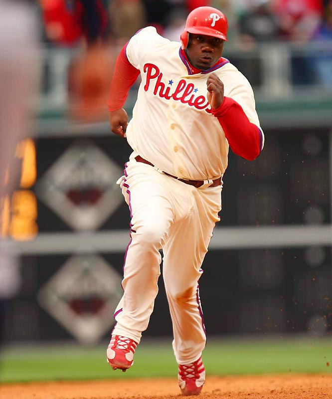 Over the past two years, Phillies fans have seen Ryan Howard lift 105 home runs out of the yard, but they are hard-pressed this year to find that same offensive production as their star slugger was mired in a 2-for-24 slump, which had dropped his averages to .172/.297/.343.
