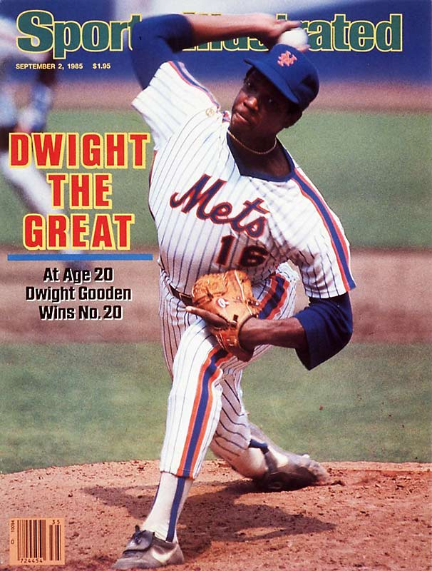 "Few pitchers have burst onto the scene with as much promise and dominance as Dwight Gooden. ""Doc"" was a mere 20 years old and in just his second big-league season when he cut through the National League in 1985, going 24-4 with a 1.53 ERA, eight shutouts and 268 strikeouts."
