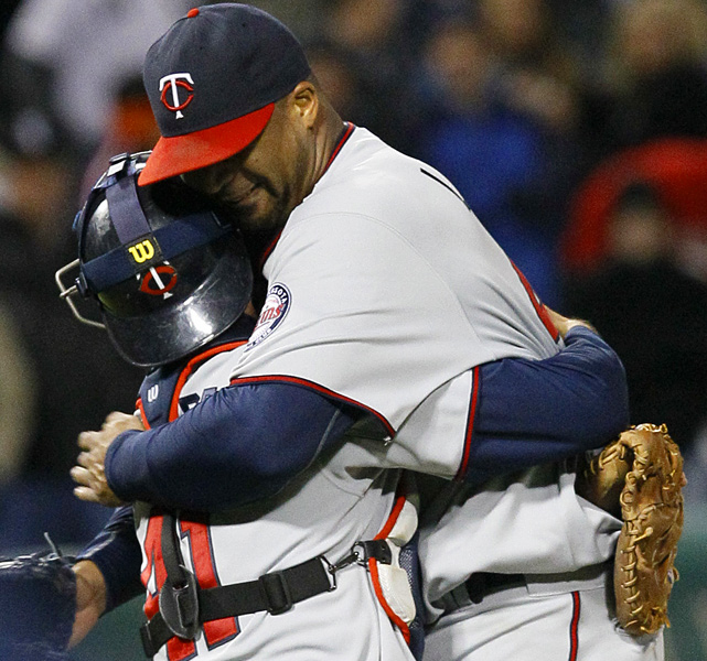 In his previous start Liriano had lasted three innings and his ERA had ballooned to 9.13. But he delivered the seventh no-hitter in Twins history, and the first since Eric Milton in 1999, as he struck out two and walked six in a 1-0 win over the White Sox. The 123-pitch erfort was just the first complete game of Liriano's six-year career.