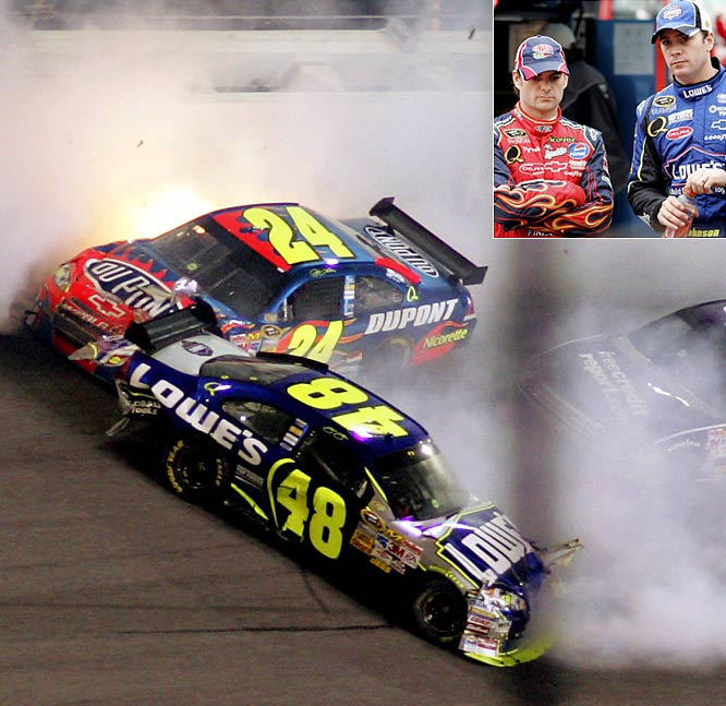 Jimmie Johnson and Jeff Gordon are still in the top 10 in points, ninth and 10th respectively, but they are a far cry from their 2007 domination. Last year they finished first and second in the standings and combined to win 16 races. A third through the 2008 season, Johnson has just one victory and Gordon has been shut out.