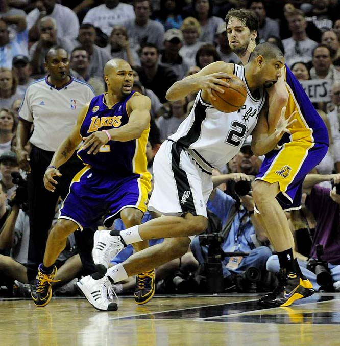 ''We saw a turnaround coming,'' said Spurs star Tim Duncan, who added 22 points, 21 rebounds and five assists as the Spurs beat the Lakers 103-84 in Game 3.