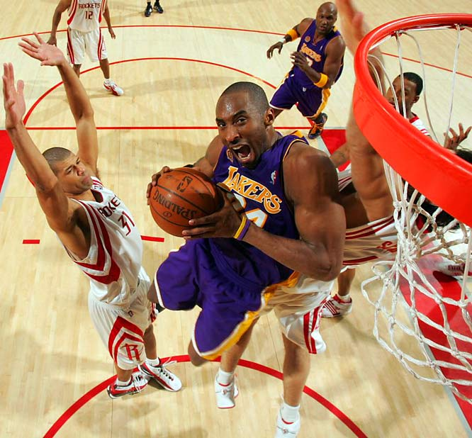 Kobe Bryant, a nine-time member of the All-NBA team, including five stints on the first squad (2002, 2003, 2004, 2006, 2007), is expected to be named league MVP on Tuesday, May 6. He finished as high as third in the voting in two previous seasons.