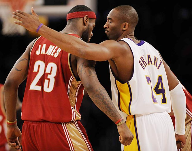 Kobe ranked second in scoring this season behind LeBron James, who in February supplanted Bryant as the youngest player to reach the 10,000-point milestone.