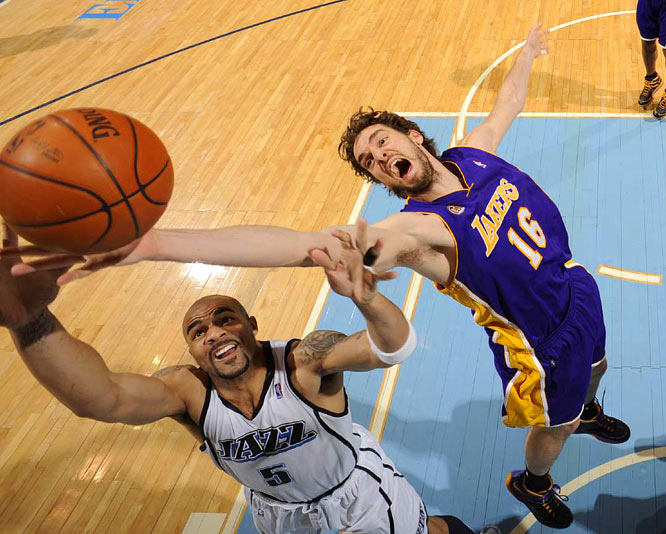 Forward Pau Gasol had one of his worst games since joining the Lakers, scoring just 12 points and grabbing six rebounds.