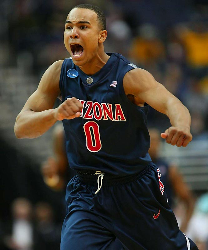 The speedy slasher and explosive finisher is in the mix to be the second guard picked, after Derrick Rose. A bit undersized, Bayless might have to play more point guard in the NBA than he did at Arizona, where he averaged 19.7 points and 4.0 assists.