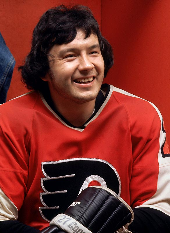 The Riverton Rifle is the only non-goaltender among the five Smythe-winners who toiled for a team that did not win the Cup. Leach capped his 61-goal regular season by scoring another 19 in 16 playoff games, topping Phil Esposito's overall mark (79) set in 1970-71. However, the Flyers fell short in their quest for a third straight Cup. Goalie Bernie Parent had won the Smythe the previous two seasons. Ron Hextall (1987) is the other Flyer to win the trophy, but not the Cup.