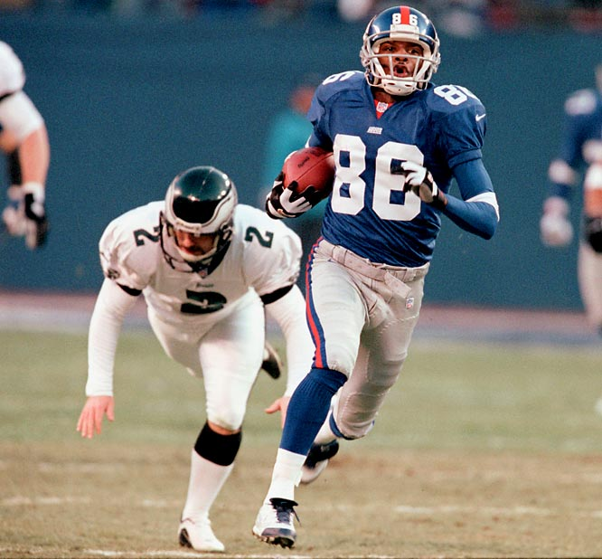 Ron Dixon's opening kickoff return for a touchdown jump-started the Giants to a 20-10 divisional playoff victory over the upstart Eagles.