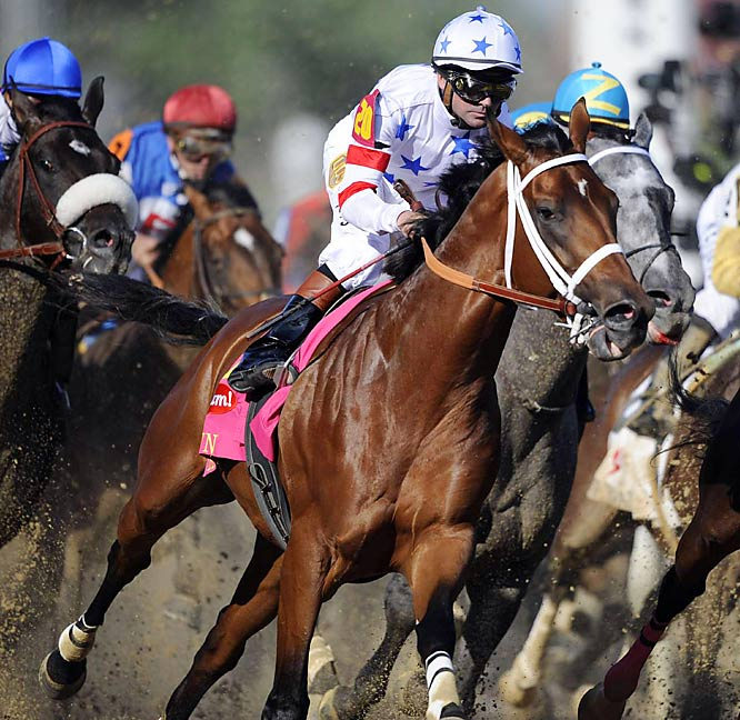 ''I can't express my feelings, only that it was one of the most incredible feelings I ever had, and I can't wait to feel it again.''<br>--Trainer Rick Dutrow Jr. after Big Brown won the 134th Kentucky Derby.