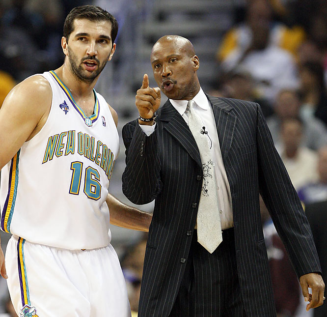 ''When you beat the defending champions by 18 and 19 points -- No. 1, it shows how good you are as a basketball team. But it also shows people around the league that what we've done this year hasn't been a fluke.'' <br>--Hornets coach Byron Scott on taking a 2-0 series lead against the defending champion San Antonio Spurs.