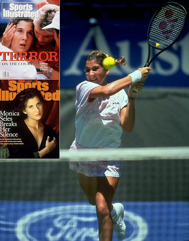 Tennis fans can bid a formal adieu to the winner of 53 singles titles. She captured eight of her nine major championships by the age of 19. Not even a stabbing by a crazed fan in 1993 could end her career as she returned to the game 27 months later.