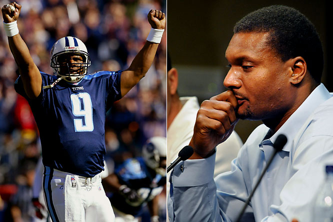As a former co-MVP, Steve McNair had given his body to the game. After last season, though, the barrel-chested slinger declared: ''Physically, I couldn't do it anymore.''