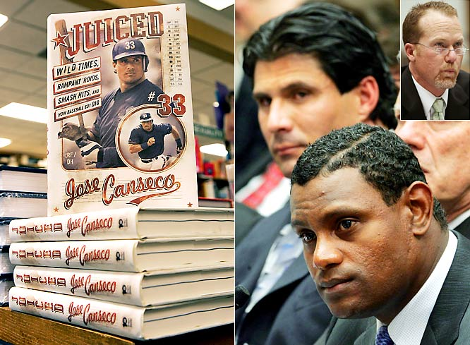 Whistle-blower: Jose Canseco<br><br>Offender: Mark McGwire, Sammy Sosa and other MLB stars<br><br>Offense: In his 2005 book <i>Juiced</i>, Canseco named dozens of players he claimed had used performance-enhancing drugs.<br><br>Fallout: Canseco's book seemed to be the catalyst for steroid reform in baseball, with a Congressional hearing and the Bud Selig-commissioned Mitchell Report following suit.