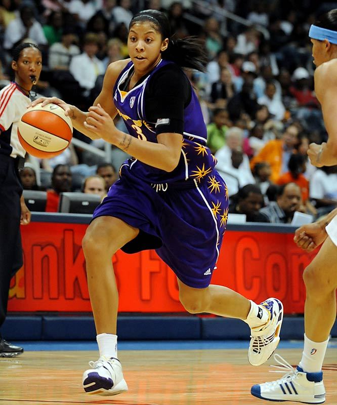 College Team: Tennessee Lady Vols<br>College Stats:  21.3 ppg, 8.5 rpg<br>WNBA:  First overall pick