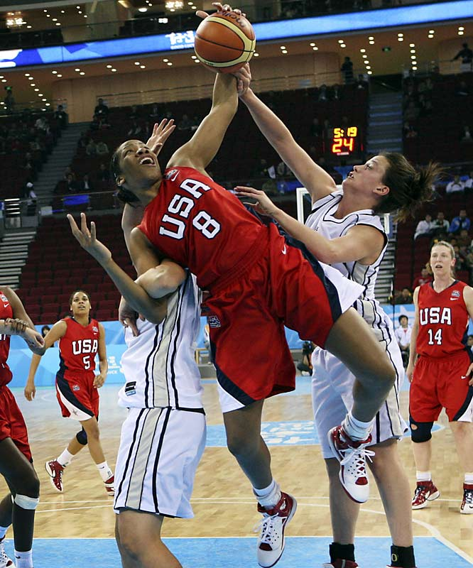 College Team:  Maryland Terrapins<br>College Stats:  14.1 ppg, 8.5 rpg<br>WNBA:  Tenth overall pick