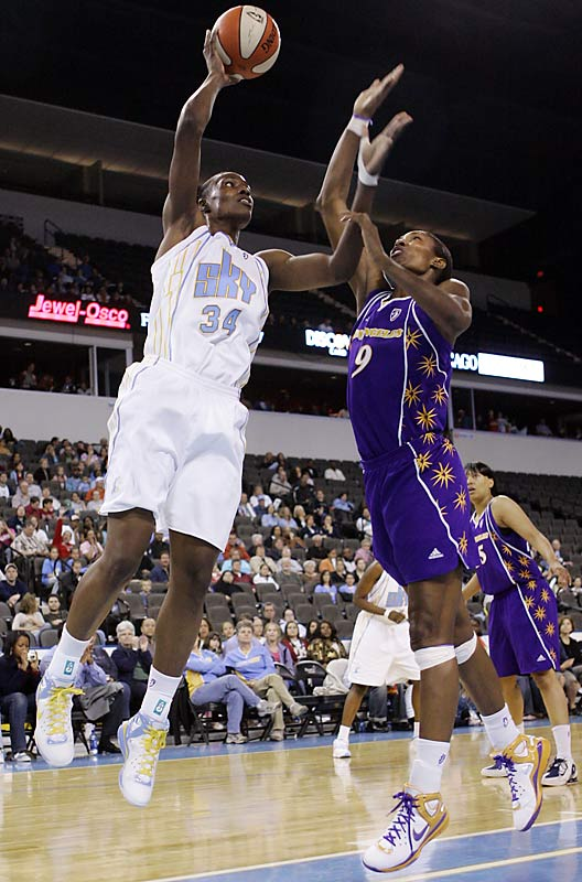 College Team:  LSU Tigers<br>College Stats:  17.4 ppg, 10.4 rpg<br>WNBA:  Second overall pick