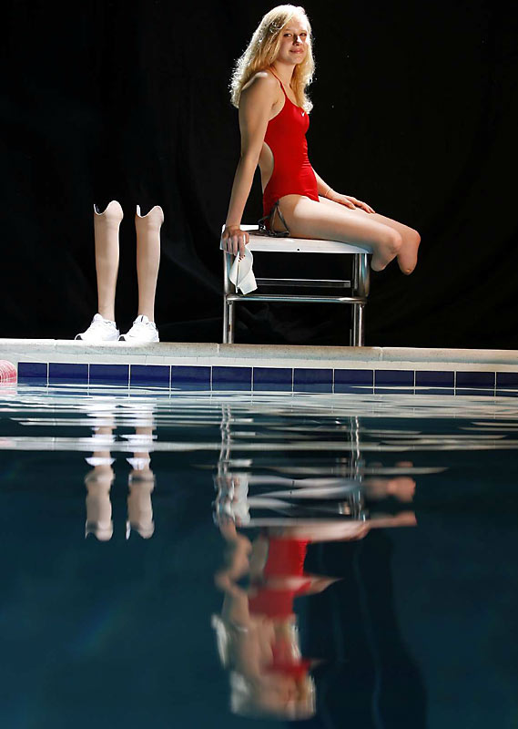 Long, a bilateral below-the-knee amputee, won the 2007 Sullivan Award and was named USA Swimming's Disability Swimmer of the Year. Long, who began swimming competitively in 2002, won three gold medals at the '04 Paralympic Games and will be looking for more in Beijing.