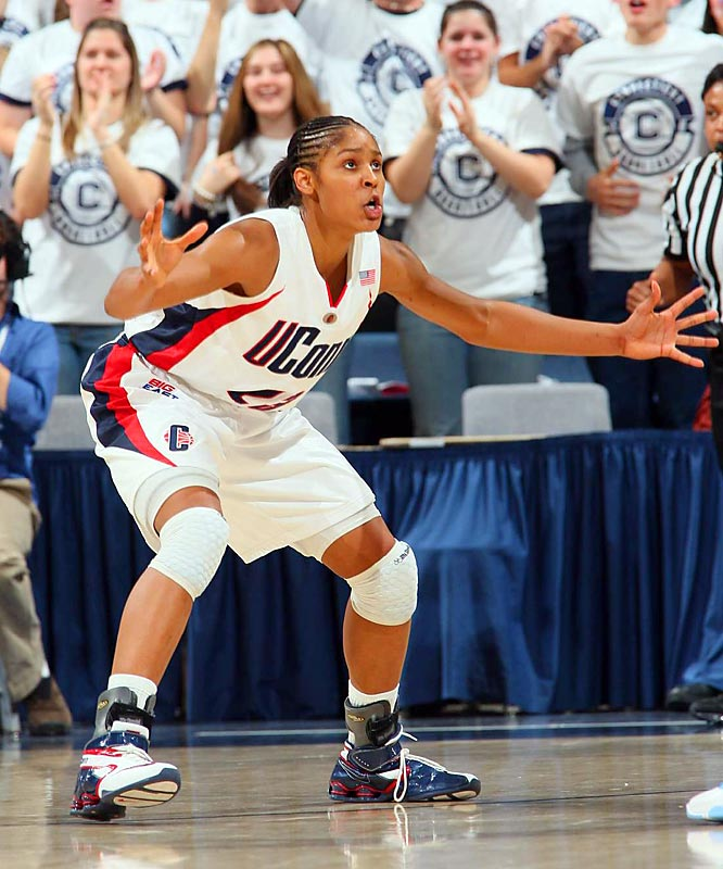 How good was UConn's Maya Moore last season? The 6-foot forward became the first UConn freshman to be named an All-America and set the Big East's all-time freshman scoring mark with 678 points. With Tennessee's Candace Parker now in the WNBA, UConn will be a unanimous No. 1 preseason pick come fall.